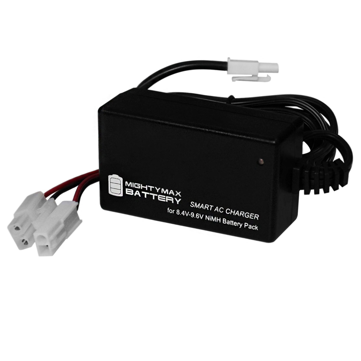 Smart Charger for 8.4V-9.6V NiMH Battery Packs w/ Mini Tamiya Connector