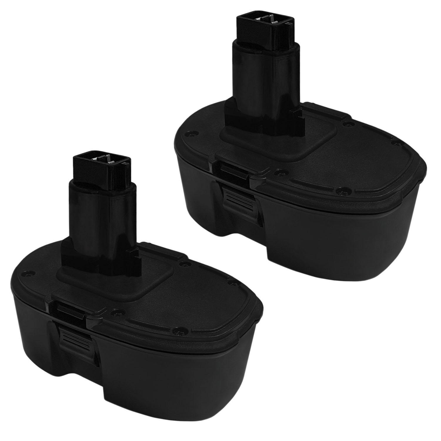 18V Ni-Cd  Replacement Battery for DE9095 DC9096 DW9095 - 2 PACK