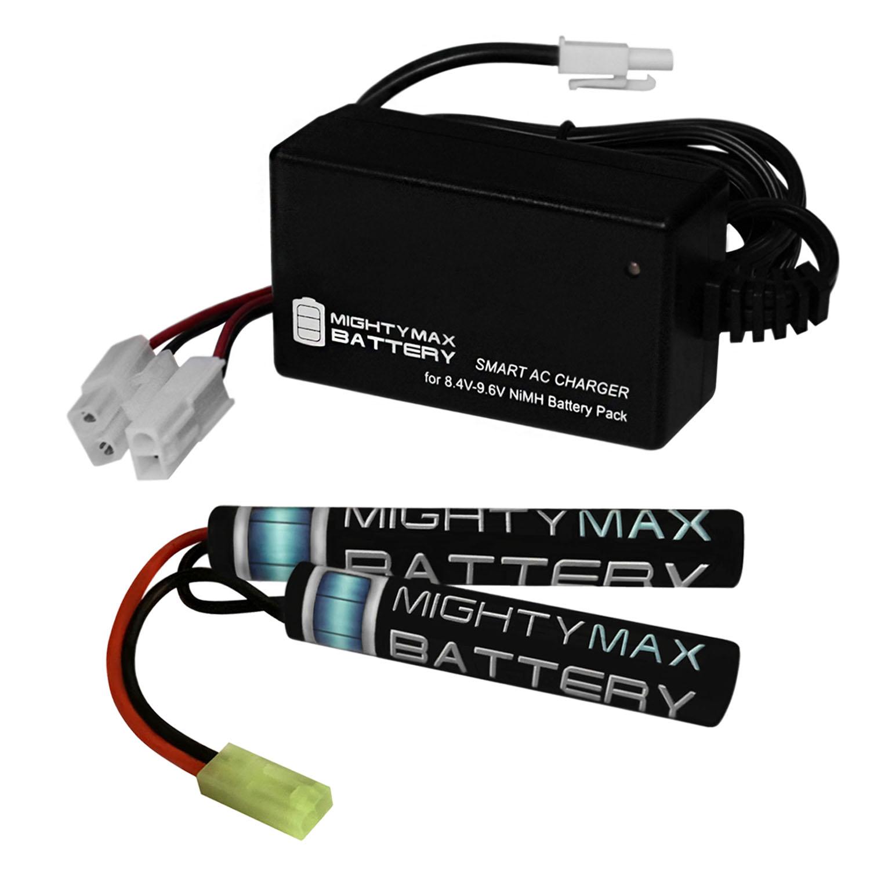 8.4V NiMH 1600mAh Mini Butterfly Battery Pack + 8V Smart Charger