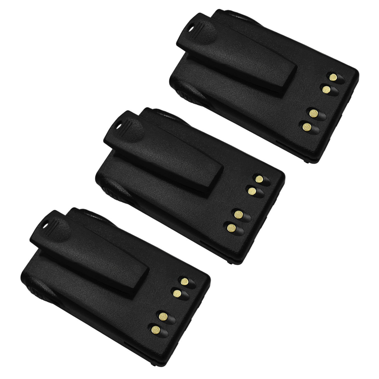 JMNN4023 Battery with CLIP for Motorola EX500 / EX600 - 3 Pack