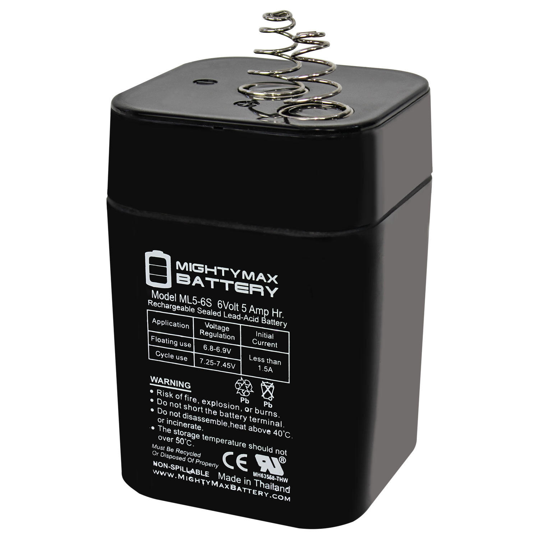 6V 5Ah Lantern SLA Battery