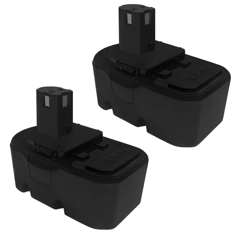 18V 1.5AH Replacement Battery For Ryobi 18V Batteries - 2 Pack