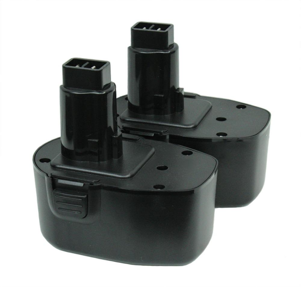 14V Ni-Cd Battery for DEWALT 14.4 Volt Cordless Tool - 2 Pack