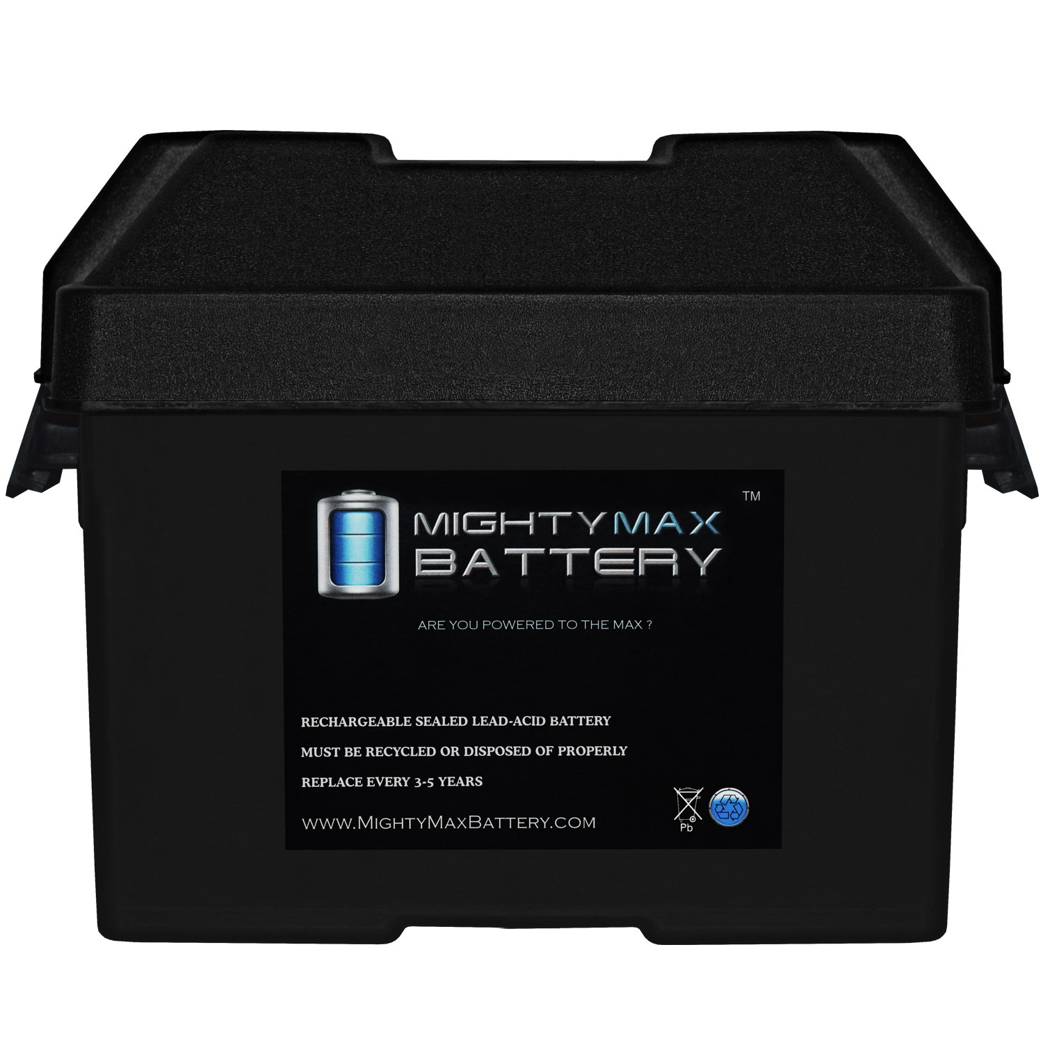 Group 24 Battery Box for Automotive, Marine, and RV Batteries - 1