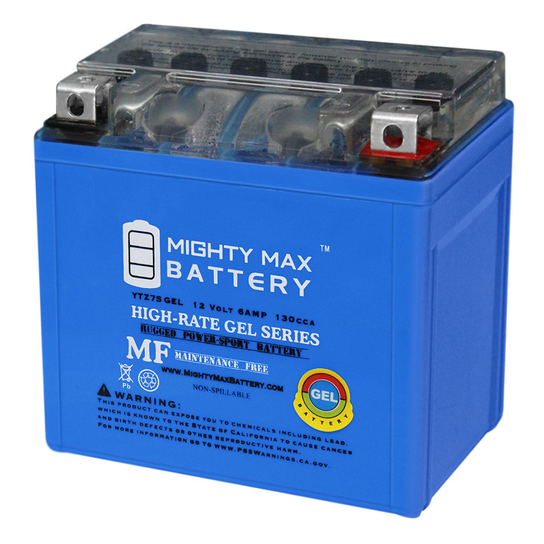 12V 6AH GEL Battery for Yamaha 230 TTR230E 2006-2007