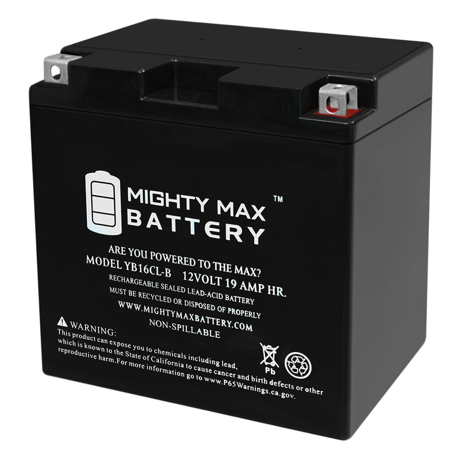 YB16CL-B 12V 19AH SLA Battery for Sea-Doo 3D RFI 2004 - 2005