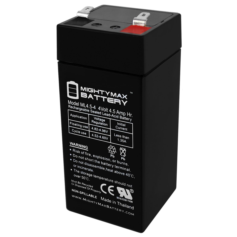 4 Volt 4.5 Ah Sealed Lead Acid Battery
