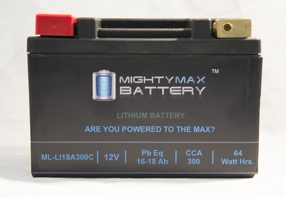 ML-LI16L LiFePO4 12V 16-18ah 330 CCA PowerSport Battery
