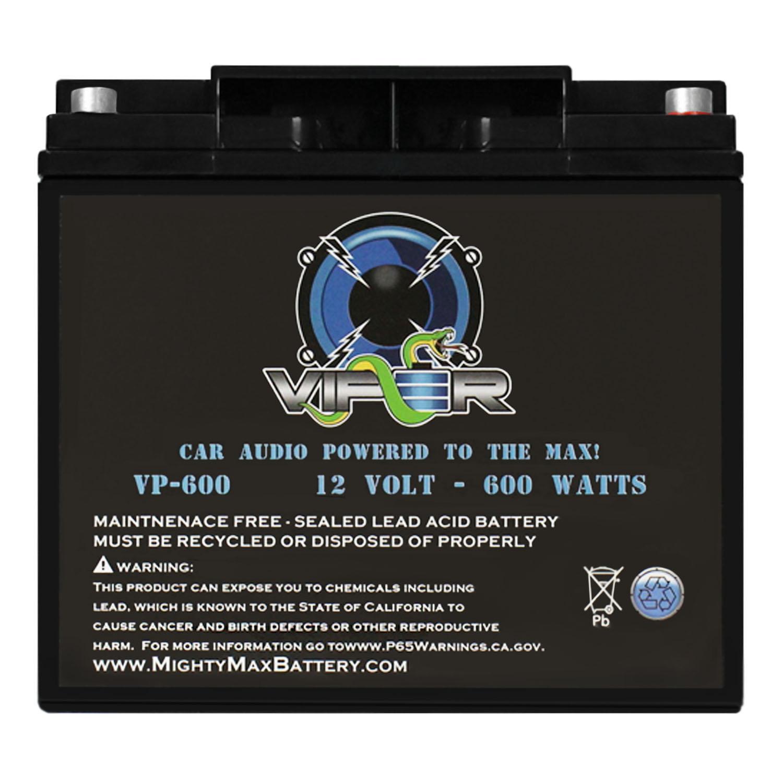 Viper VP-600 600 Watt Audio Battery for Rockford Fosgate 200ix DSM