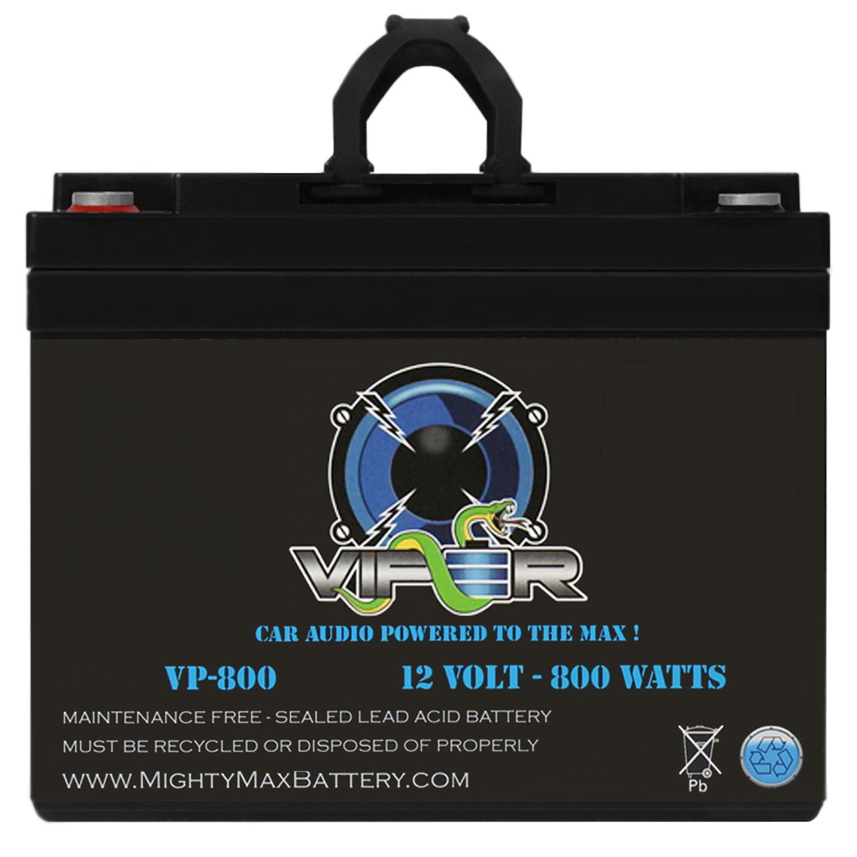 Viper VP-800 12V 800 Watt Audio Battery for Volfenhag ZX-5164