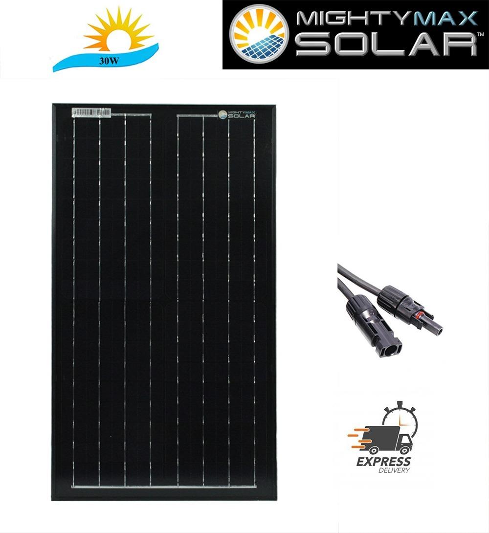 30 Watt Monocrystalline Solar Panel