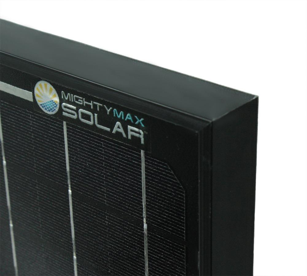 30 Watt Monocrystalline Solar Panel - 1