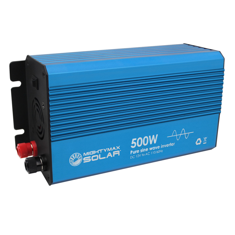 12V 500 watt pure sine wave inverter for solar application