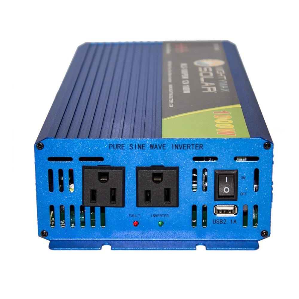 12V 1000 watt pure sine wave inverter for solar application - 2