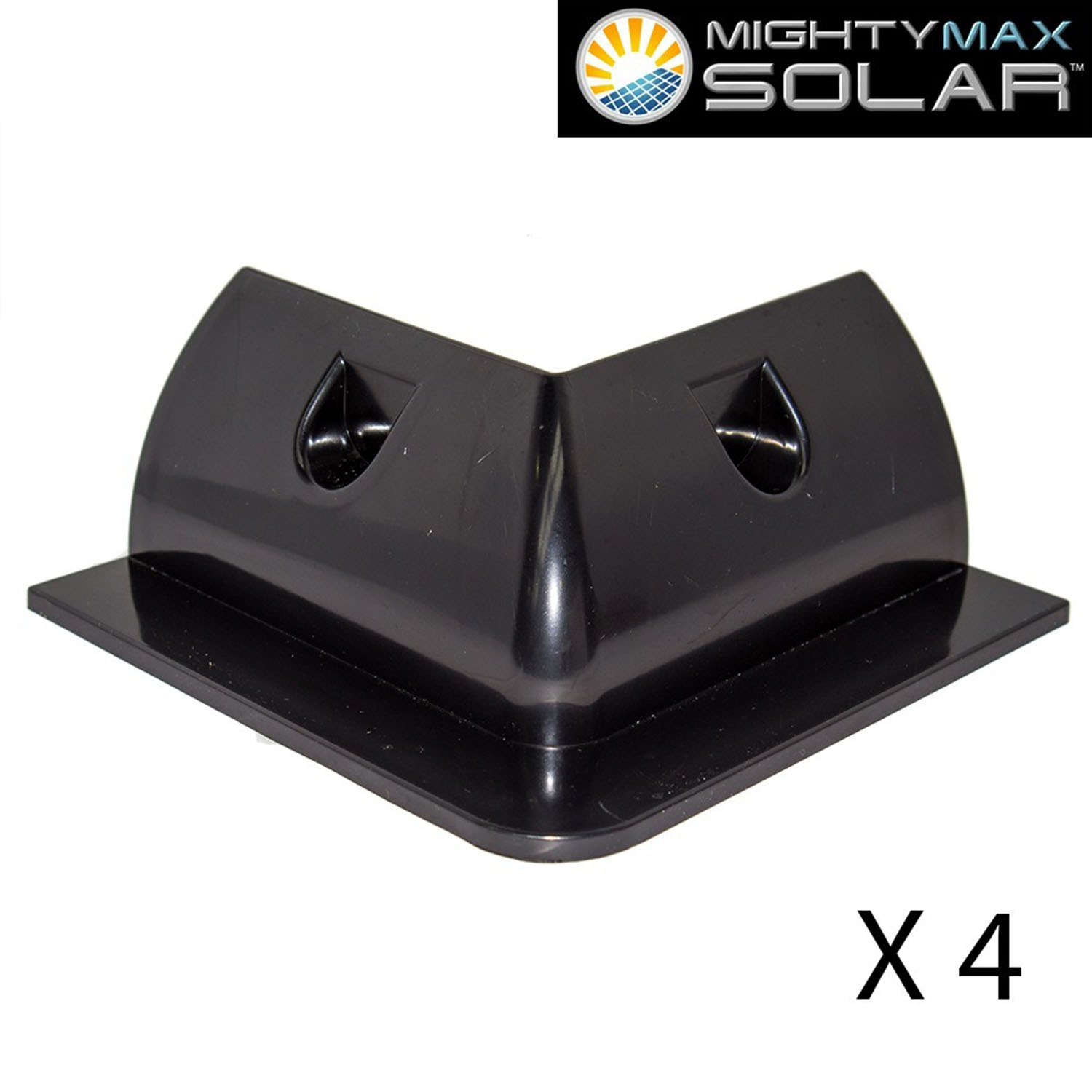 Universal ABS NO DRILL RV Solar Panel Mount - 2