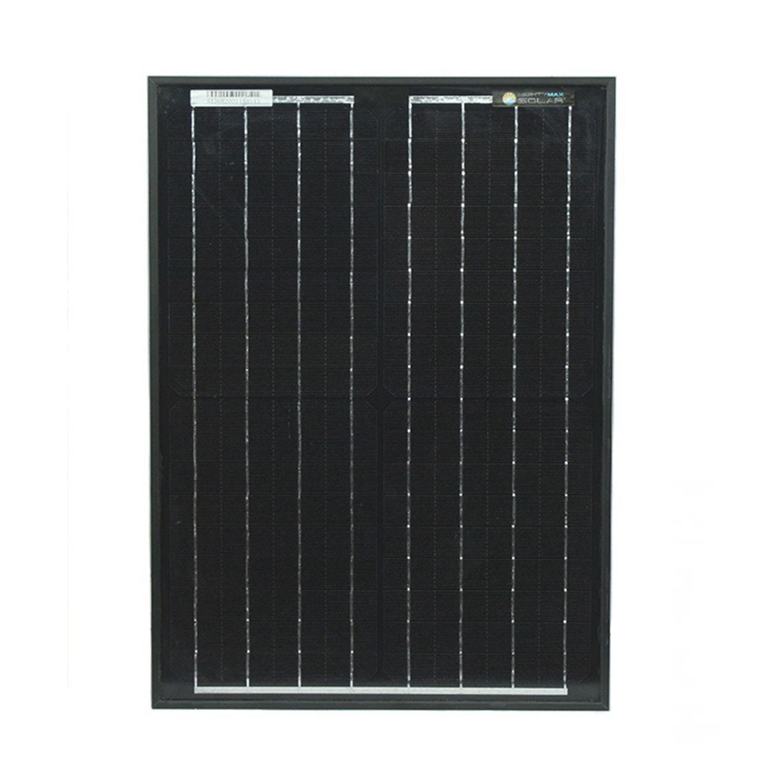 20 Watt Black Frame Monocrystaline Solar Panel