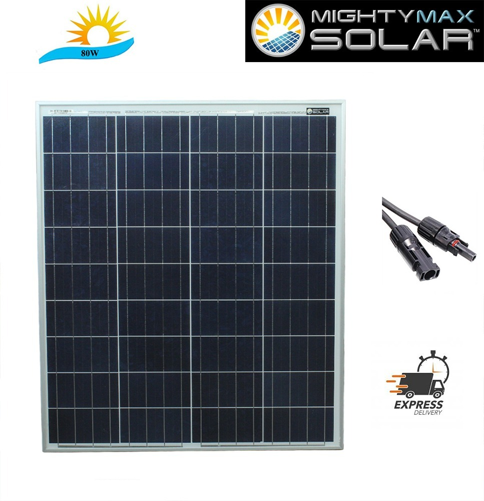 80 Watt Polycrystaline Solar Panel