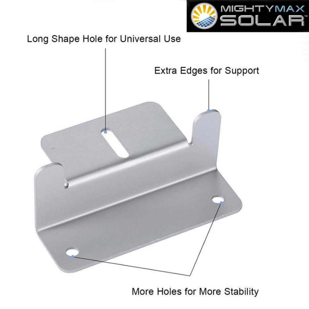 Solar Panel Z-Bracket - 2 Pack - 2