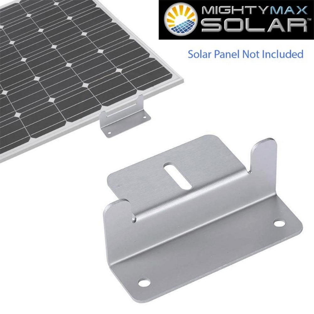 Solar Panel Z-Bracket - 2 Pack - 4