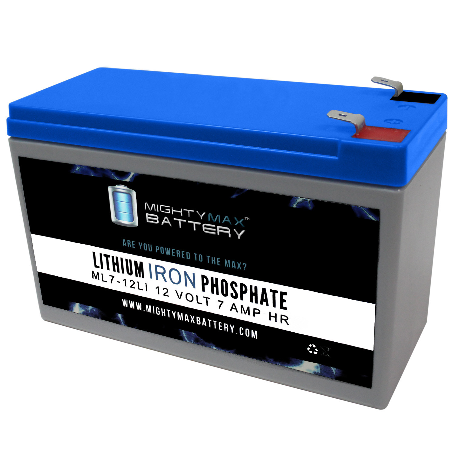 12V 7AH Lithium Replacement Battery for Cyclops Spotlight Cyc-S1500